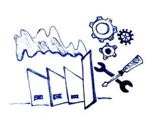 UniPRO/Manufacturing als Komponente von UniPRO/CRM+ERP