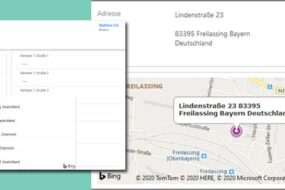 Unidienst-adress-add-on